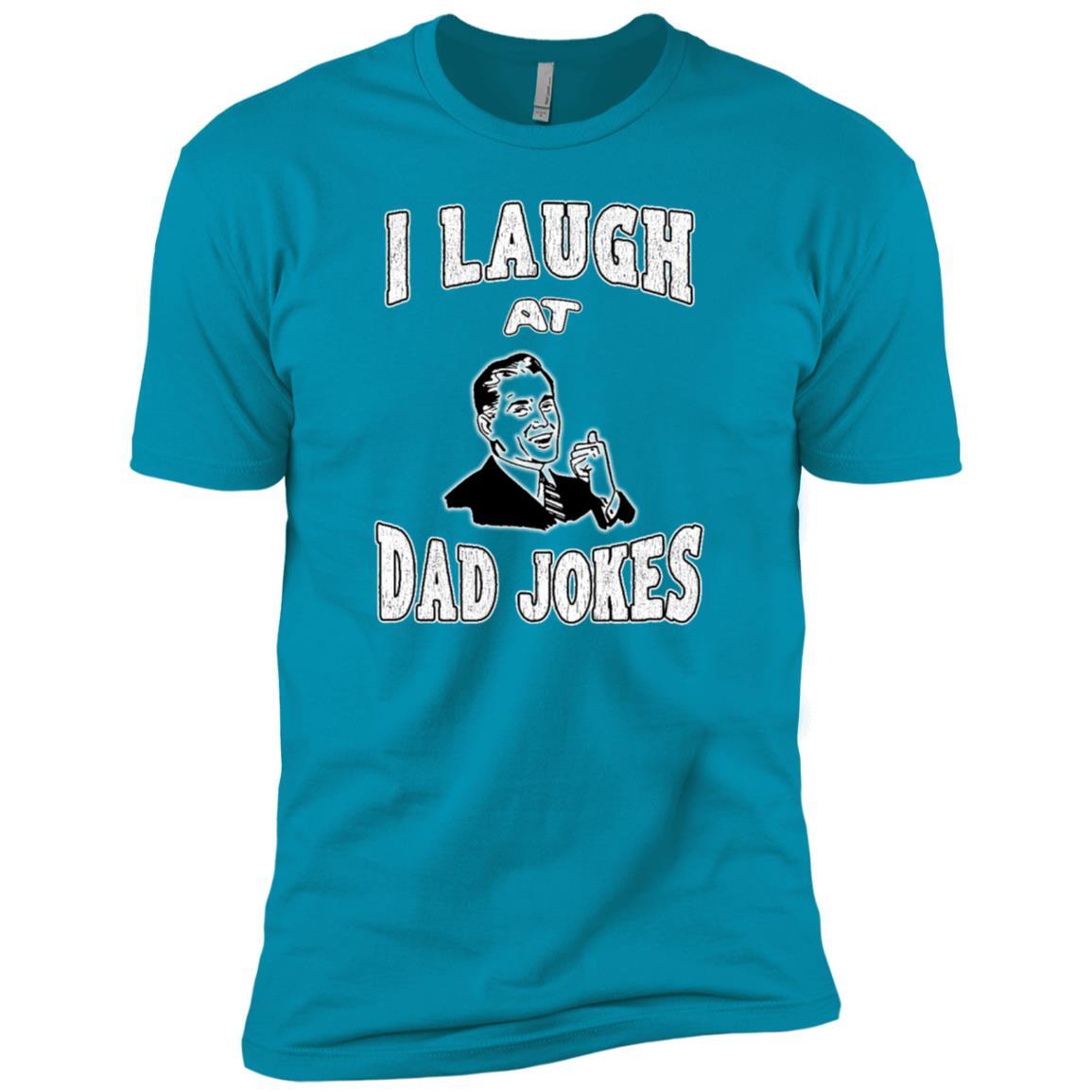 I Laugh At Dad Jokes Funny-1 Men Short Sleeve T-Shirt