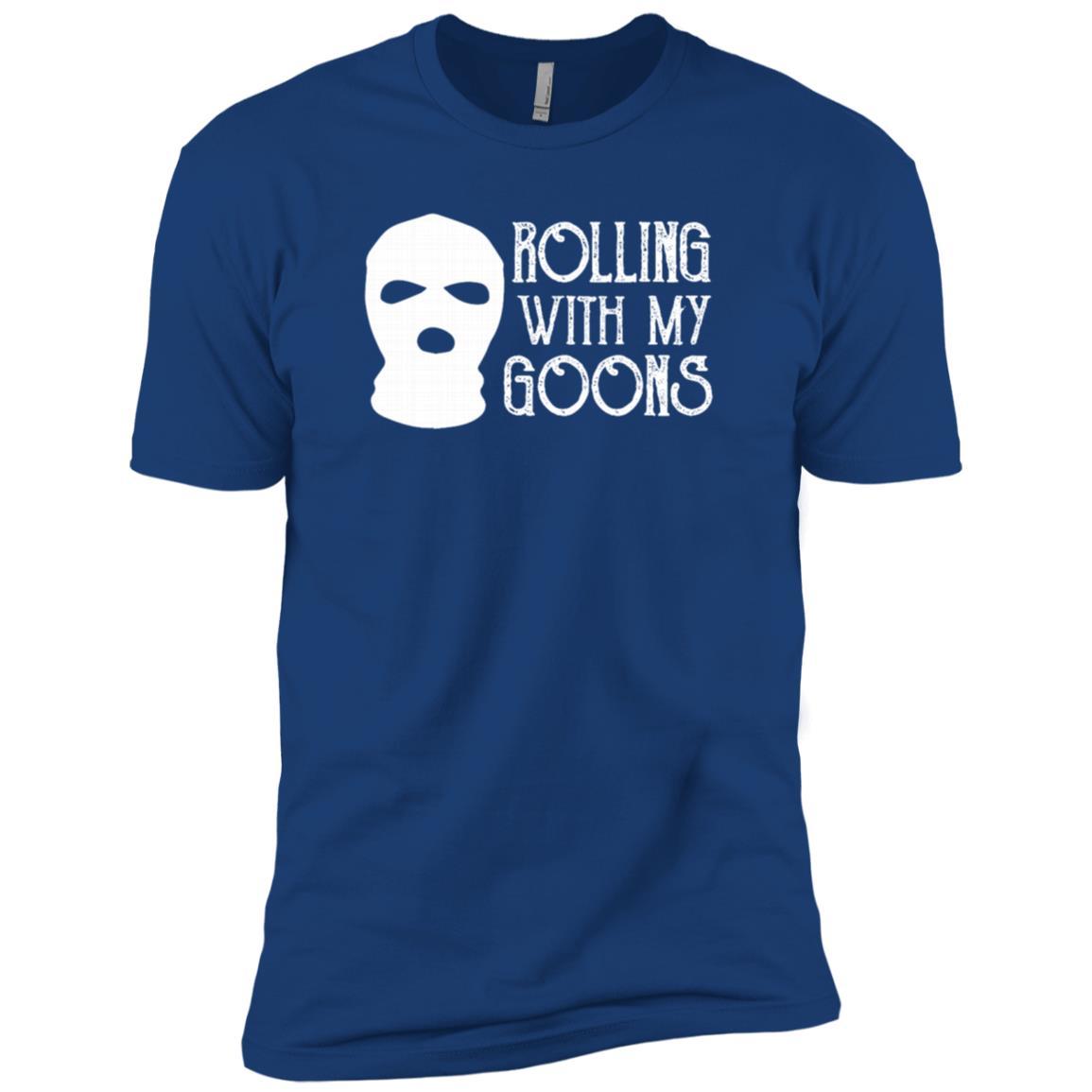 Rolling With My Goons MenWomen Gift Men Short Sleeve T-Shirt