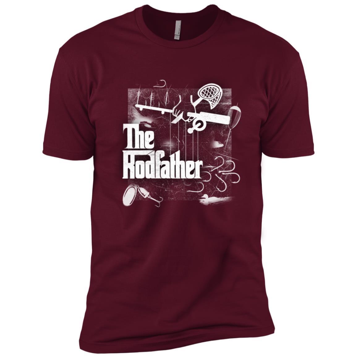 Fishing – The Rod Father – Funny Fisherman Gift Men Short Sleeve T-Shirt