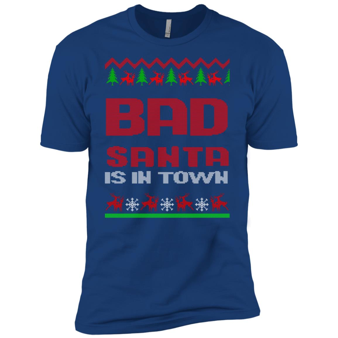 Bad anta Is In Town Clo Sweater Men Short Sleeve T-Shirt