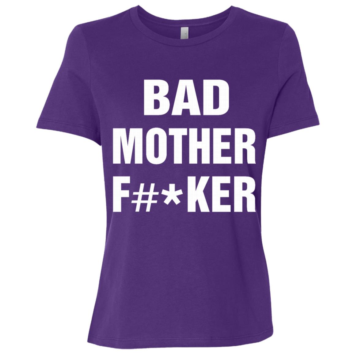 Bad Mother F -ker – Funny Mom gifts – Best gifts Mommy Women Short Sleeve T-Shirt