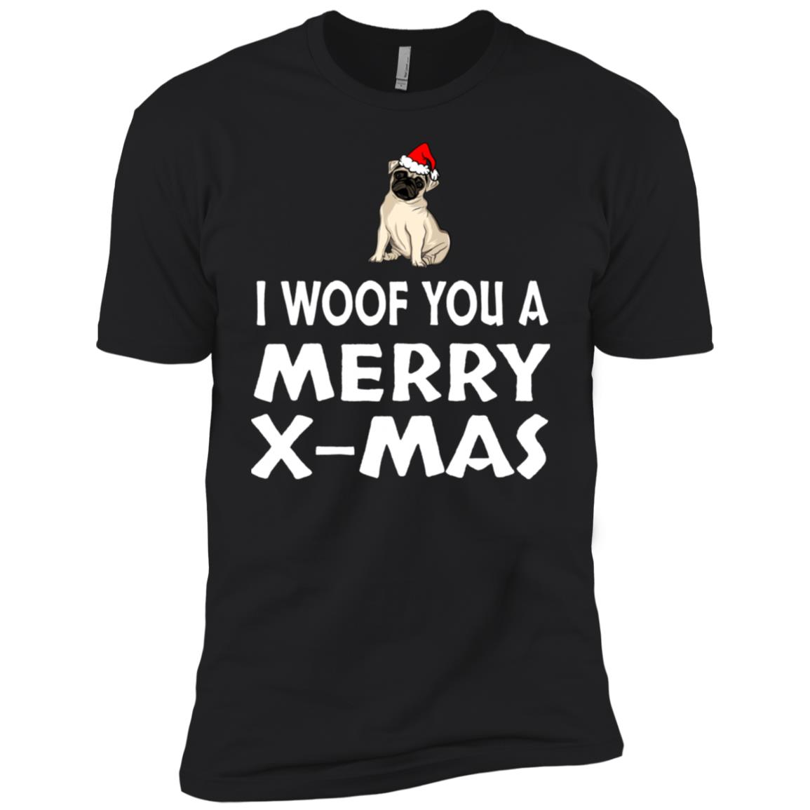 I Woof You A Merry X-mas Men Short Sleeve T-Shirt