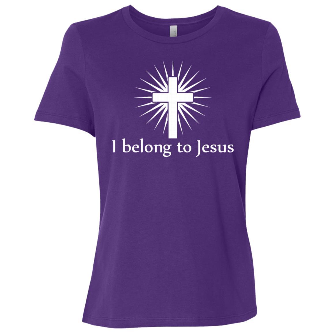 I Belong To Jesus Christian God Christ Long Tee Women Short Sleeve T-Shirt