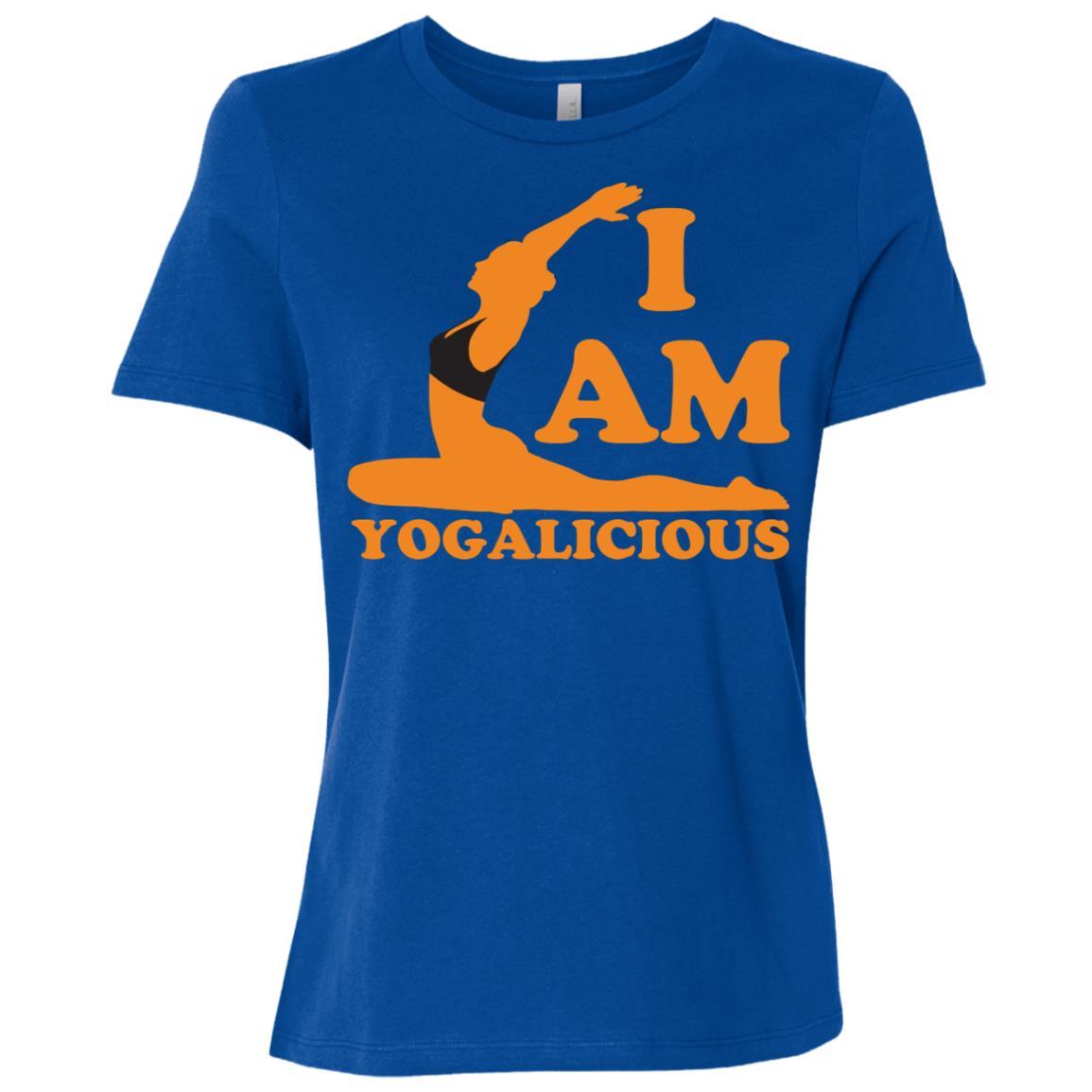 I am Yogalicious Yoga Gift for Women Women Short Sleeve T-Shirt