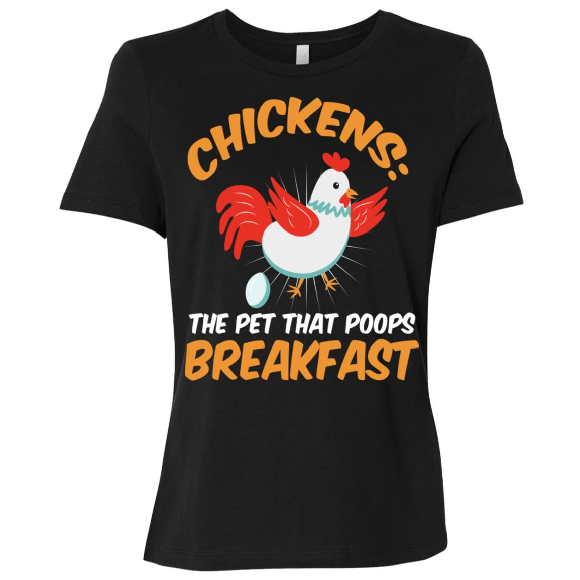 Hen Rooster Chick Farmer Market Poultry Women Short Sleeve T-Shirt