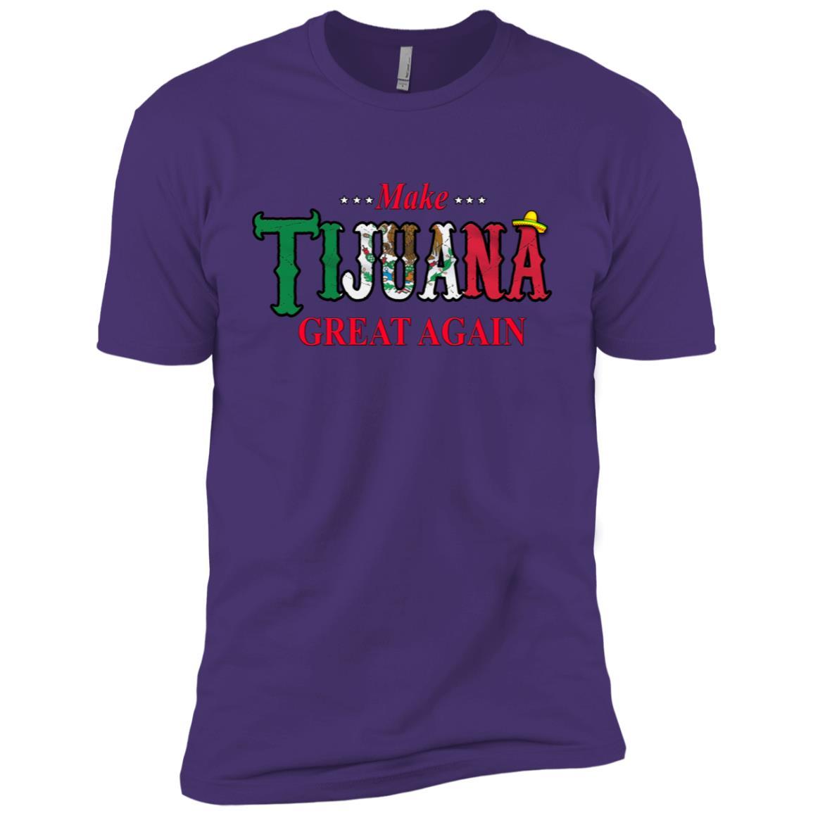Make Tijuana Mexico Great Again Funny Gift Idea s-3 Men Short Sleeve T-Shirt