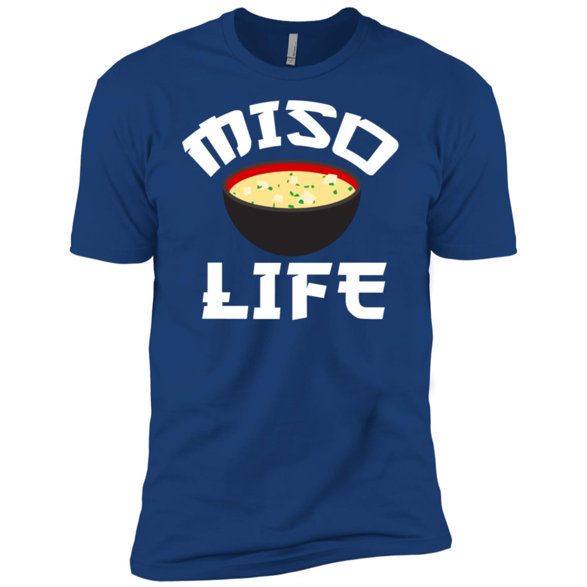 Japanese Miso Anime Miso Life Food Lover Men Short Sleeve T-Shirt