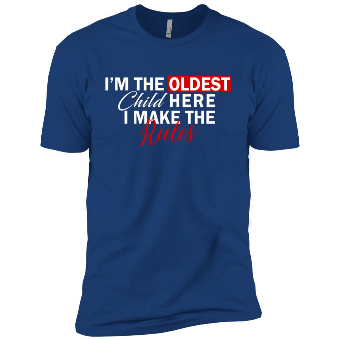 I'm The Oldest Child I Make The Rules Gift Men Short Sleeve T-Shirt