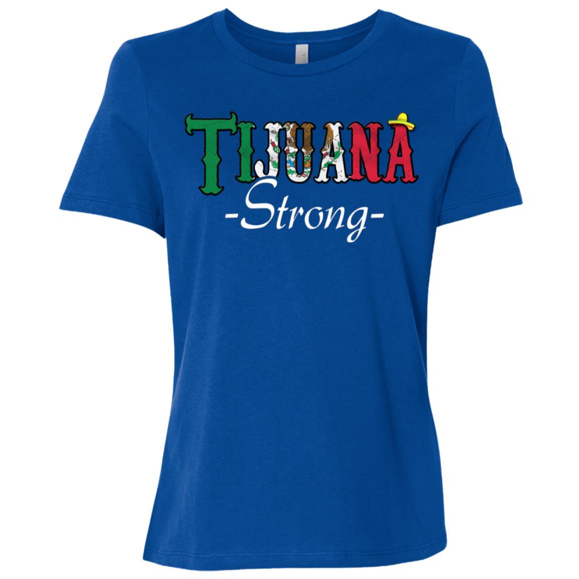 Make Tijuana Mexico Great Again Funny Gift Idea s-5 Women Short Sleeve T-Shirt