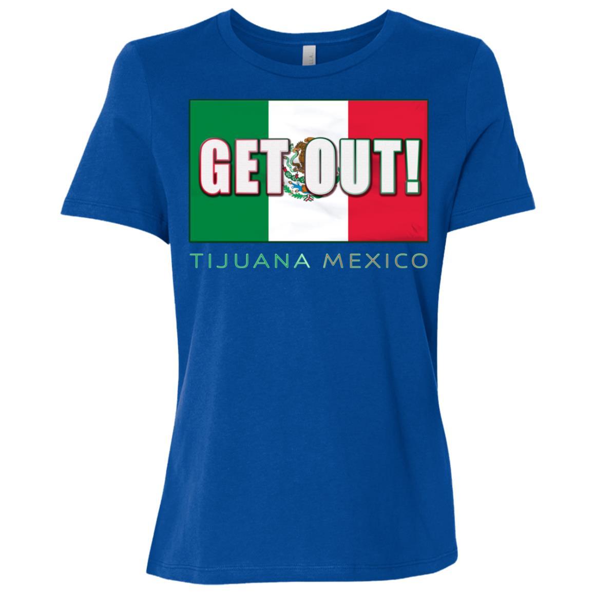 Make Tijuana Mexico Great Again Funny Gift Idea s-4 Women Short Sleeve T-Shirt
