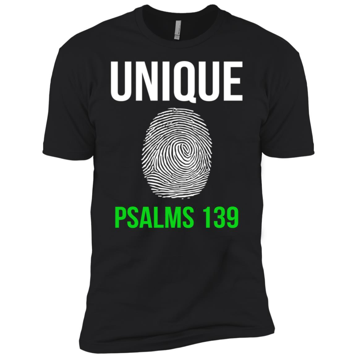 Unique Finger Print Christian Sleeve Tee Gifts Men Short Sleeve T-Shirt