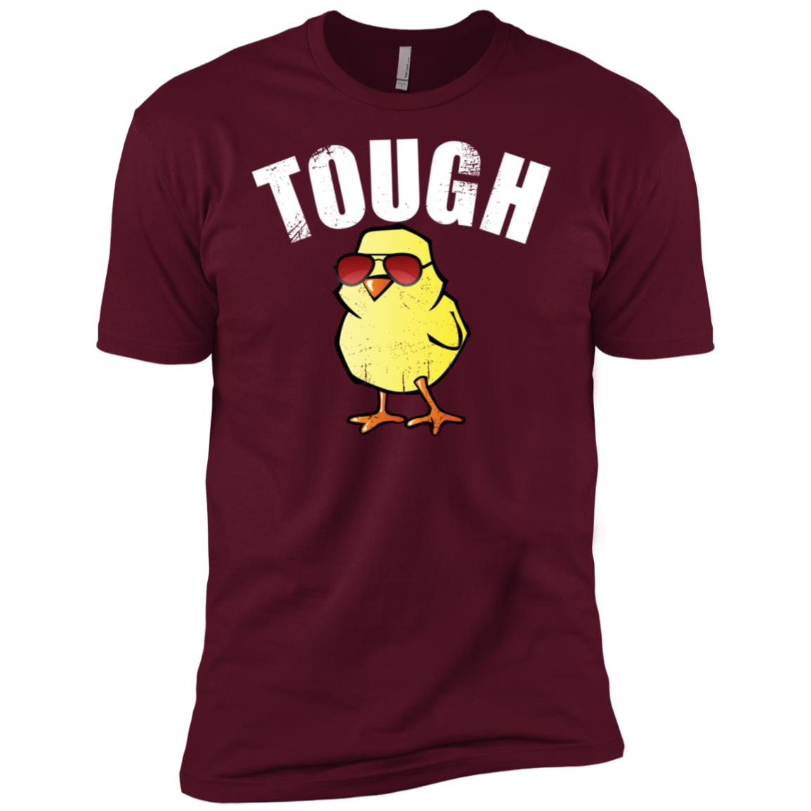 Tough Chick Funny Chick Cute Baby Chick Men Short Sleeve T-Shirt
