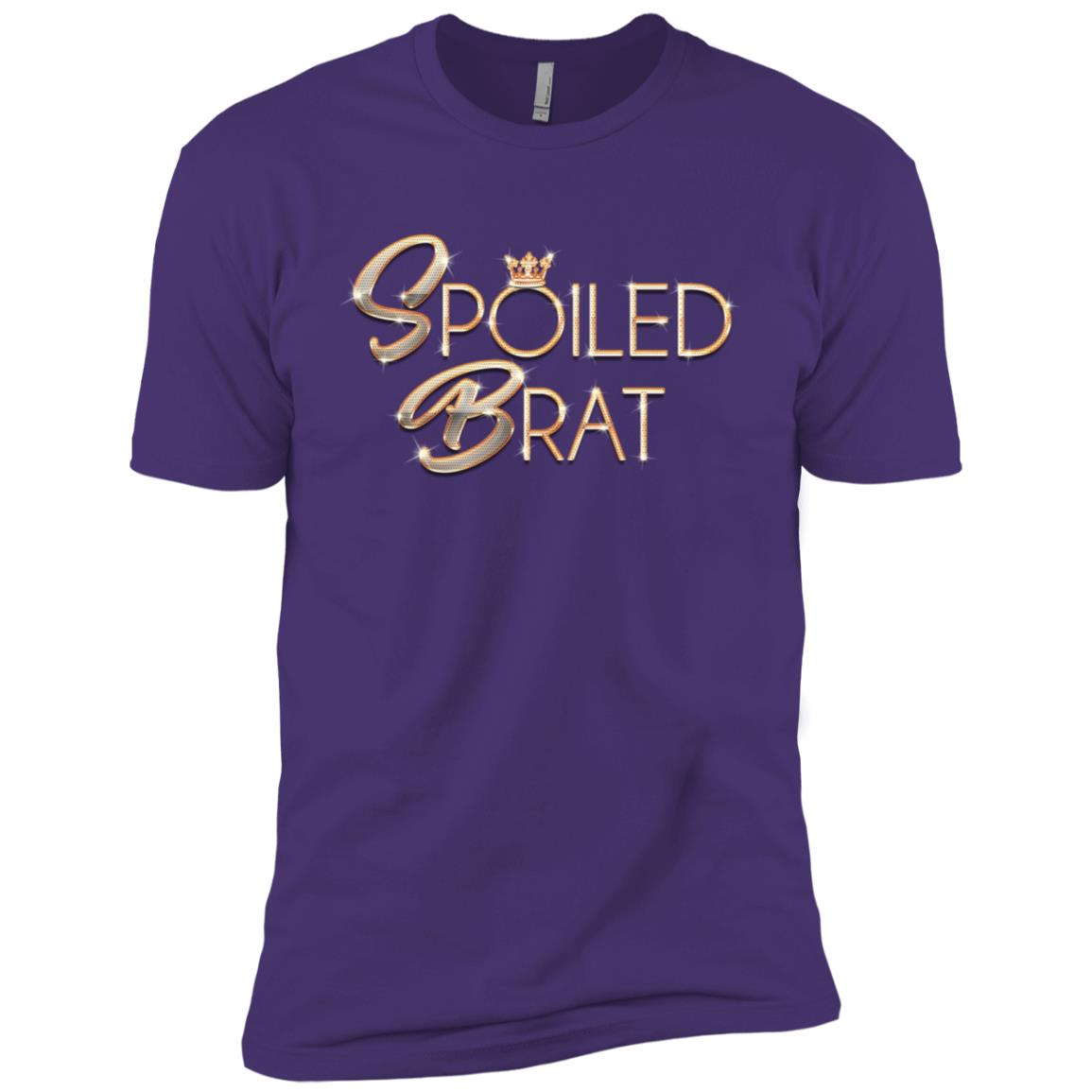 Spoiled Little Rotten Brat Funny Sarcastic Pun Men Short Sleeve T-Shirt