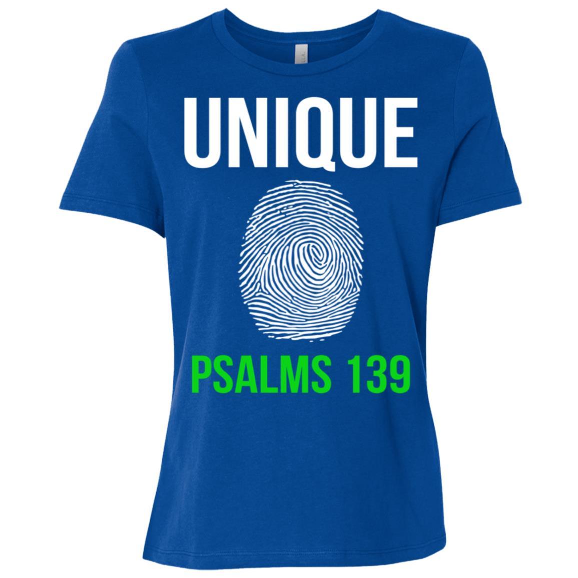 Unique Finger Print Christian Sleeve Tee Gifts Women Short Sleeve T-Shirt