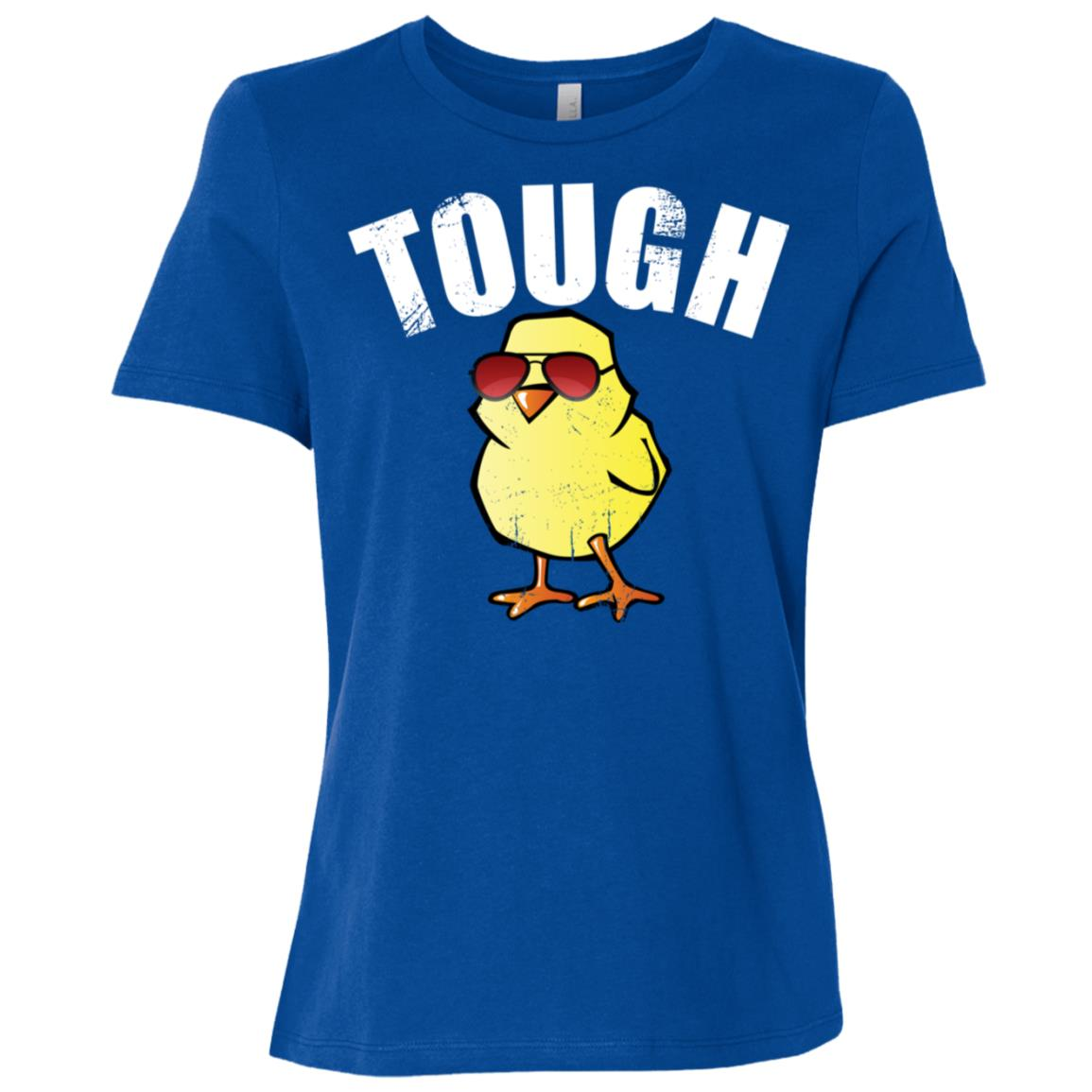 Tough Chick Funny Chick Cute Baby Chick Women Short Sleeve T-Shirt