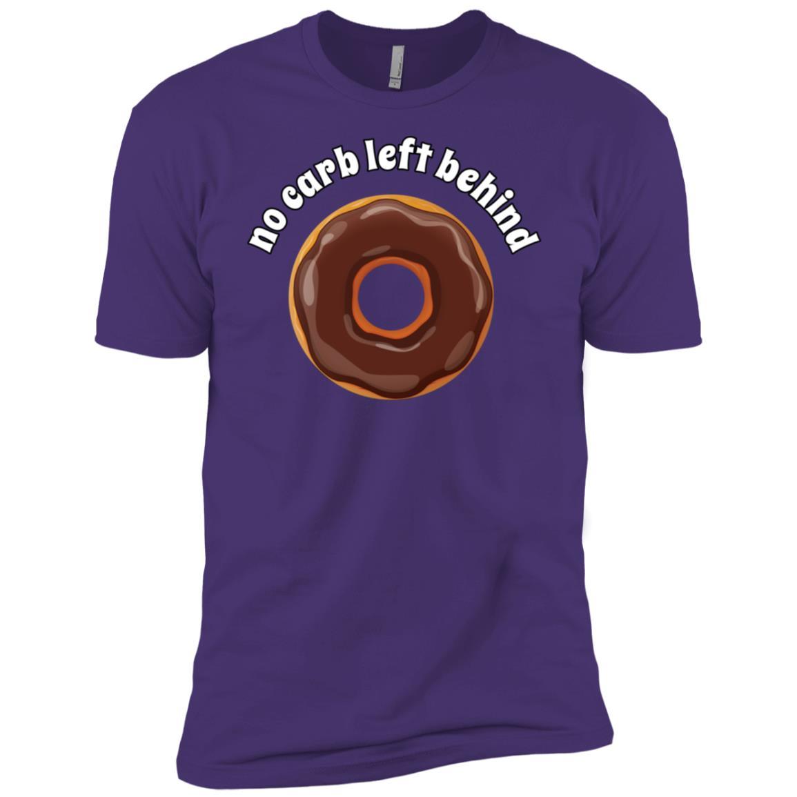 No Carb Left Behind Donut Men Short Sleeve T-Shirt
