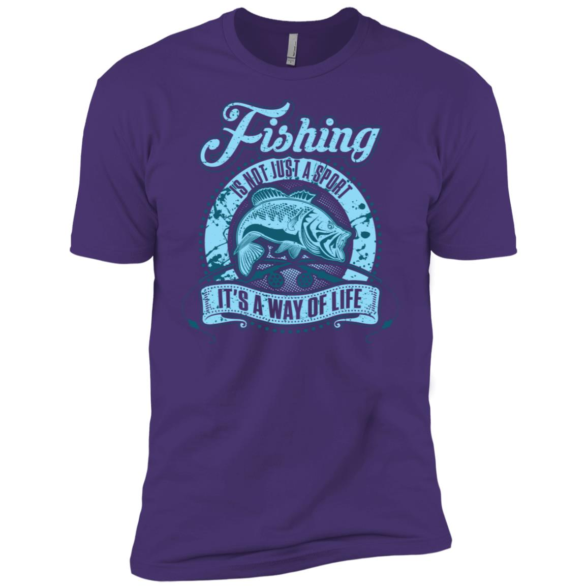 Fishing Is Not Just A Sport It's A Way Of Life 20640 Men Short Sleeve T-Shirt