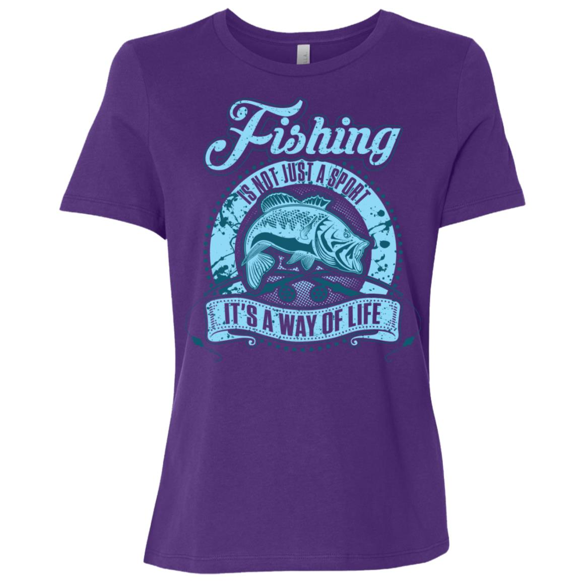 Fishing Is Not Just A Sport It's A Way Of Life 20640 Women Short Sleeve T-Shirt