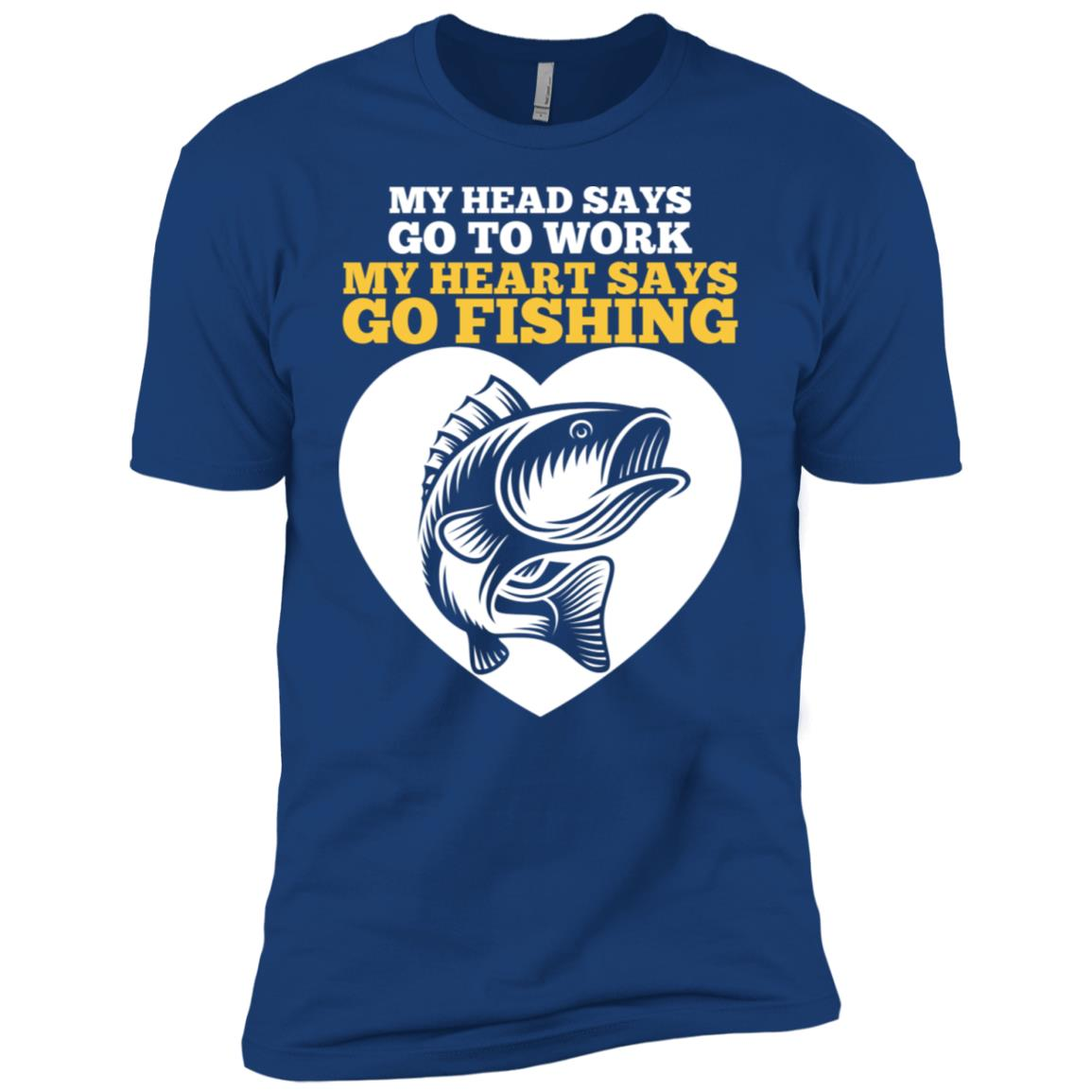 Funny Fishing Father's Day Fisherman Men Short Sleeve T-Shirt