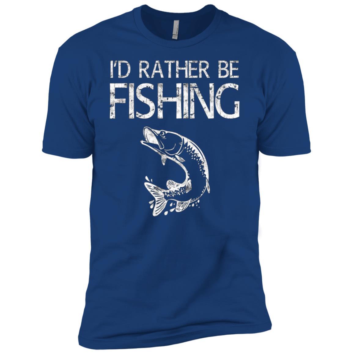 Funny Fisherman Fishing -Tee for young Men Short Sleeve T-Shirt