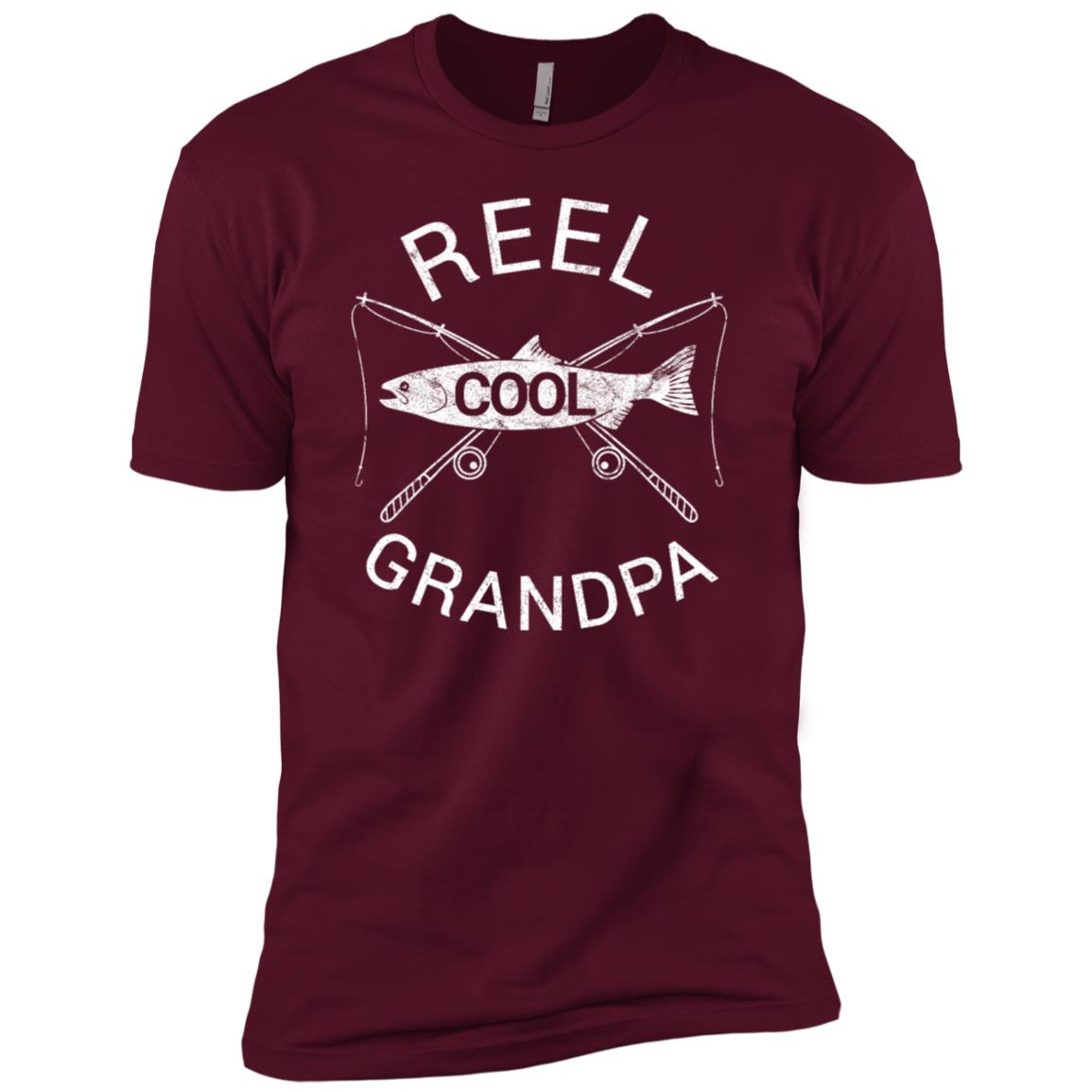 Funny Fisherman Fishing Grandpa Dad Father's Day Gift Men Short Sleeve T-Shirt