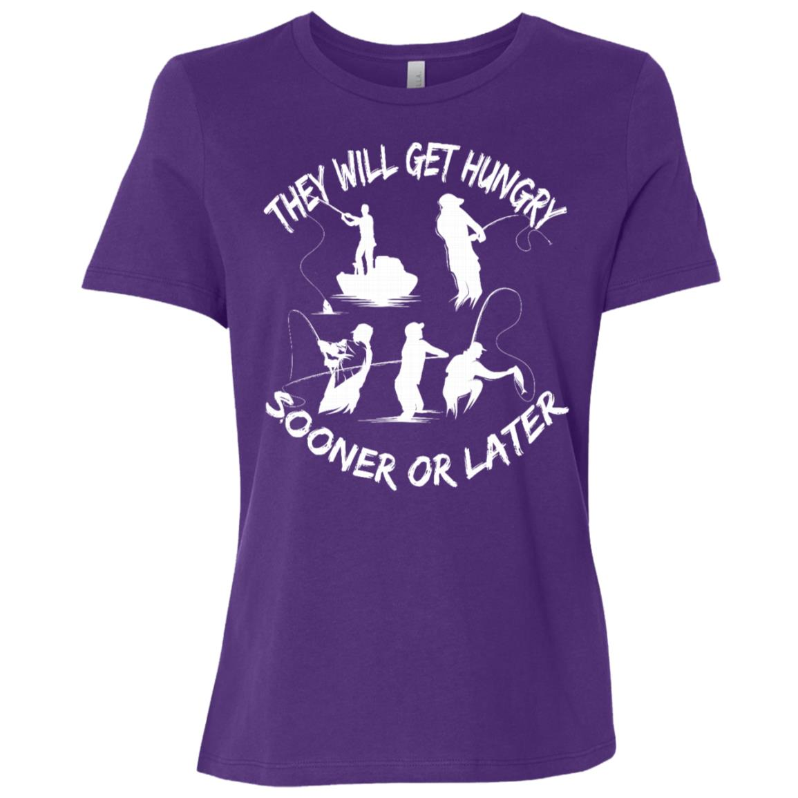 Funny Fishing Phrase Gifts for Fisherman Women Short Sleeve T-Shirt