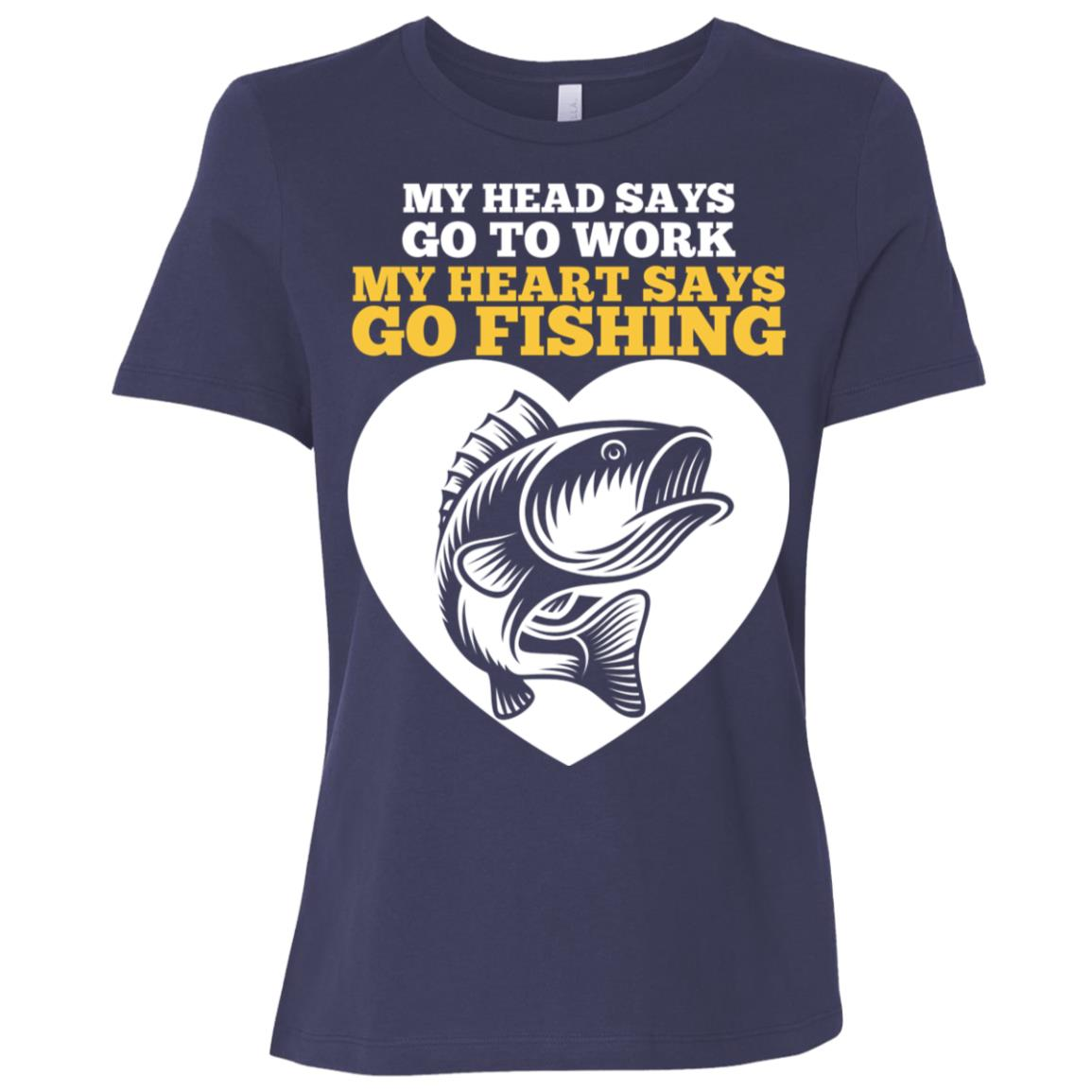 Funny Fishing Father's Day Fisherman Women Short Sleeve T-Shirt