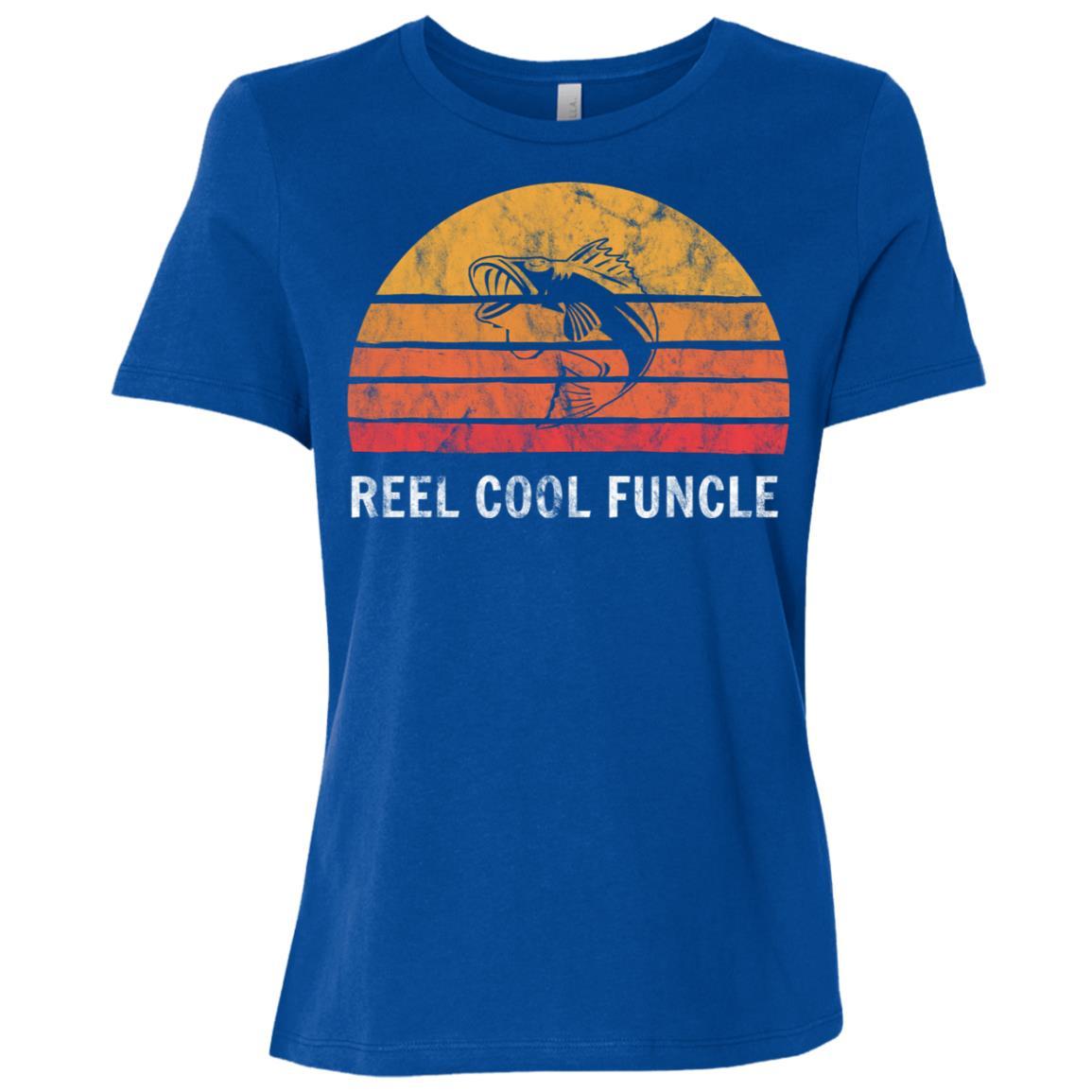 Funny Fisherman Gift Fishing Sayings For Funcle Uncle Women Short Sleeve T-Shirt