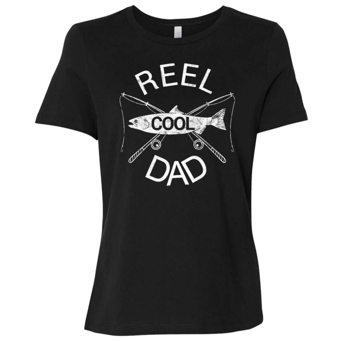 Funny Fisherman Fishing Dad Father's Day Daddy Gift Women Short Sleeve T-Shirt