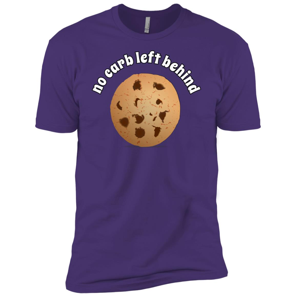 No Carb Left Behind Chocolate Chip Cookie Men Short Sleeve T-Shirt