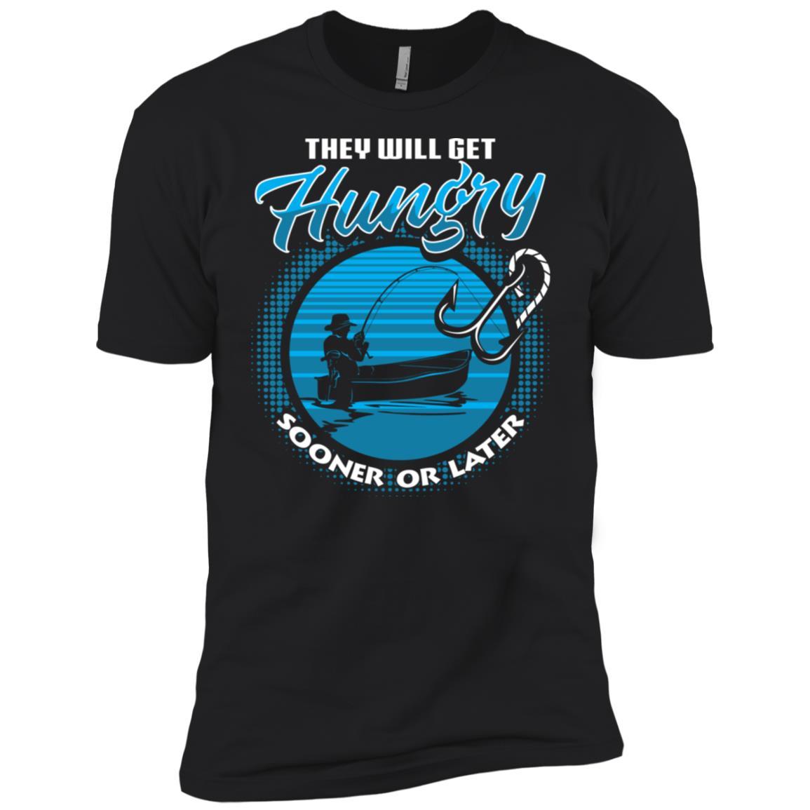 Funny Fishings for Men Women Kids Fisherman Men Short Sleeve T-Shirt