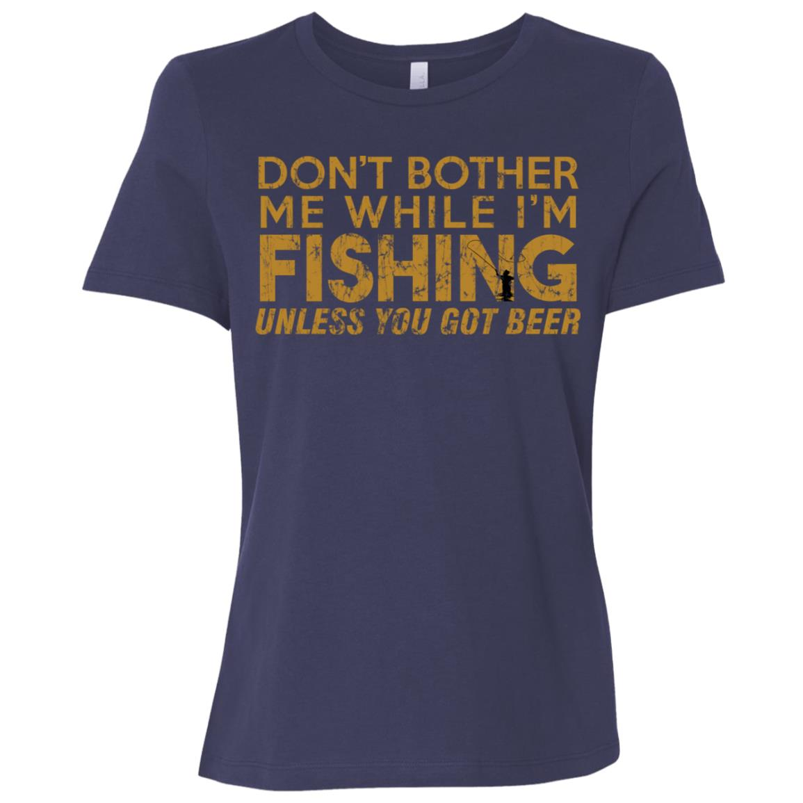 Fishing Funny Sarcasm Quotes Joke Hobbies Humor-2 Women Short Sleeve T-Shirt