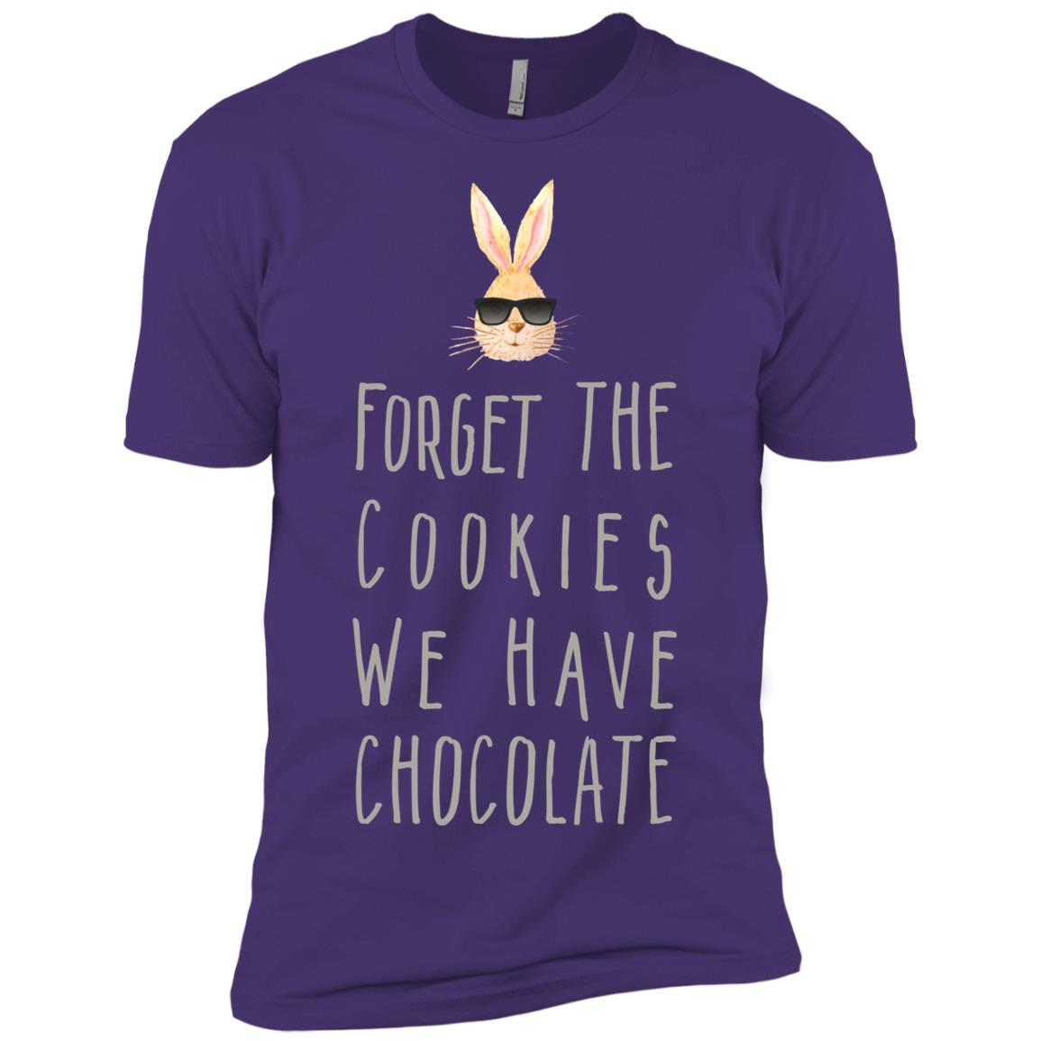 Chocolate We Have Chocolate Funny Bunnies Gift Toy s Men Short Sleeve T-Shirt