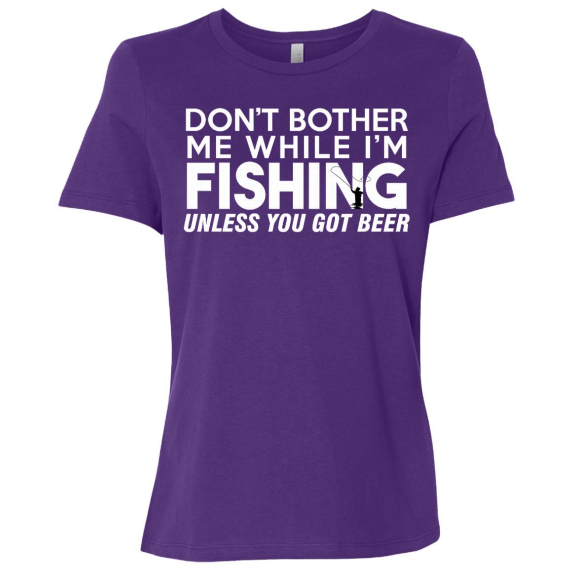 Fishing Funny Sarcasm Quotes Joke Hobbies Humor-1 Women Short Sleeve T-Shirt