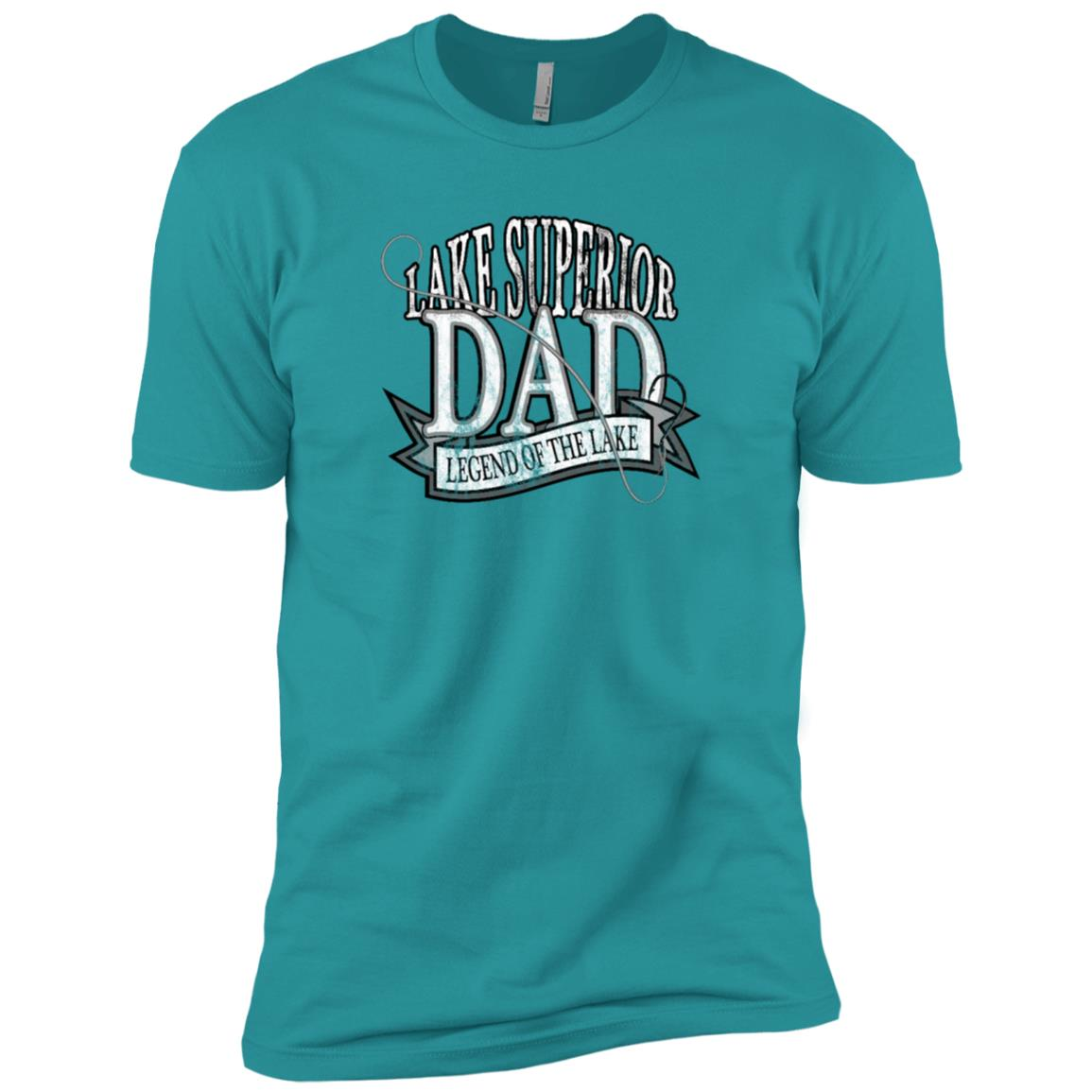 Lake Superior Dad Men Short Sleeve T-Shirt