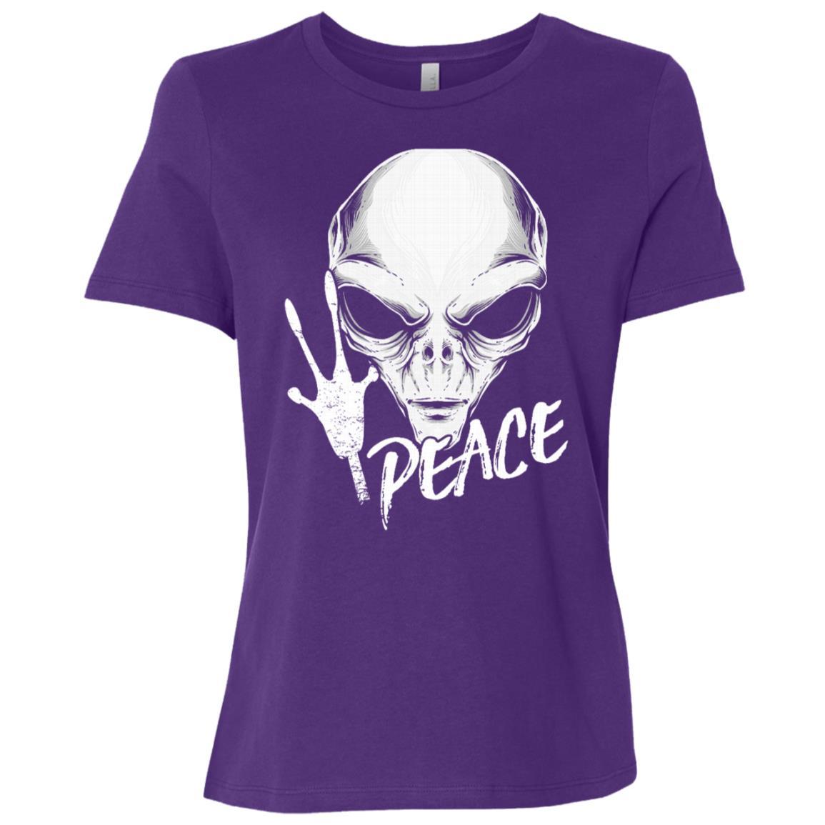 Alien Peace – Get In Loser Women Short Sleeve T-Shirt