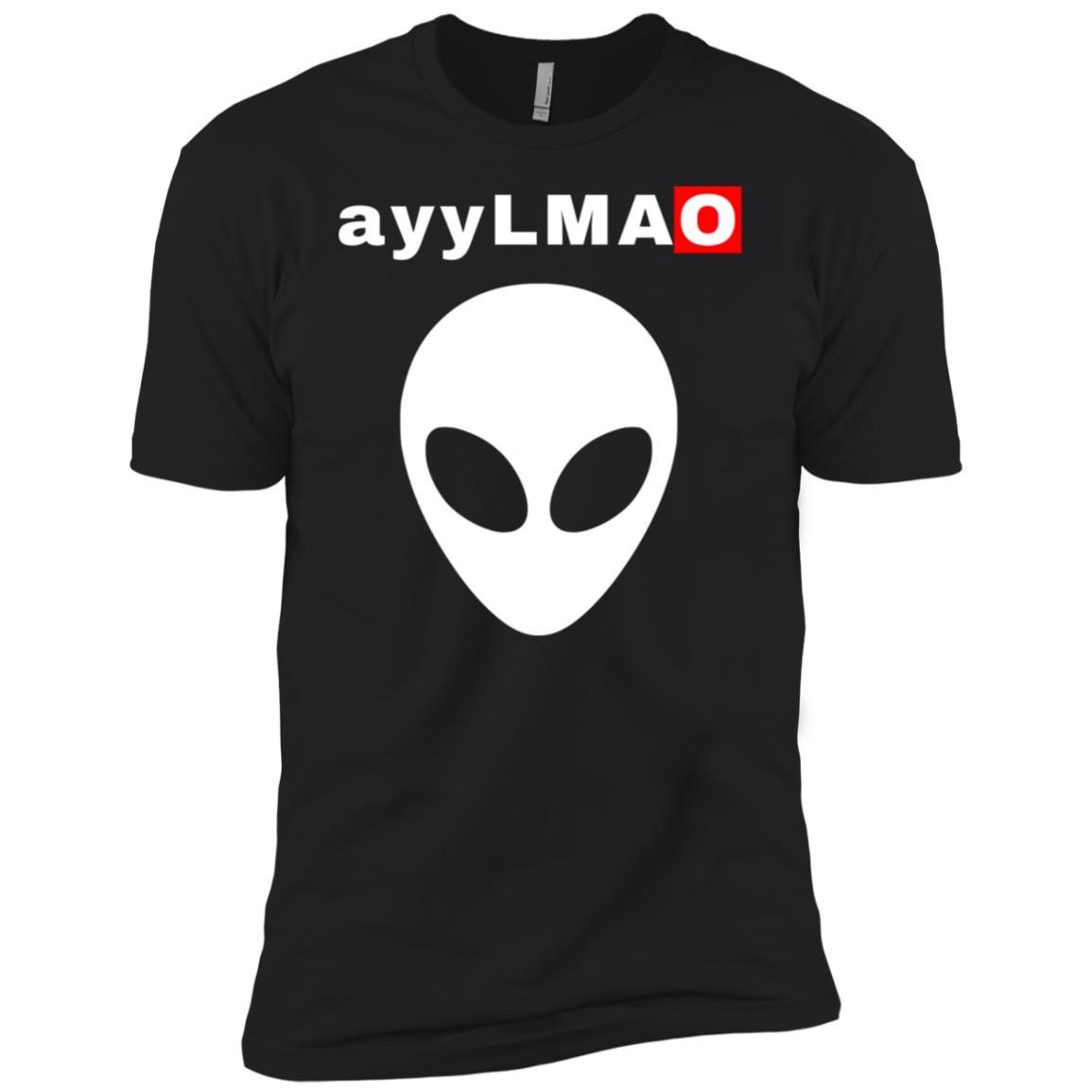 ayy Lmao Alien Head Funny Meme Men Short Sleeve T-Shirt
