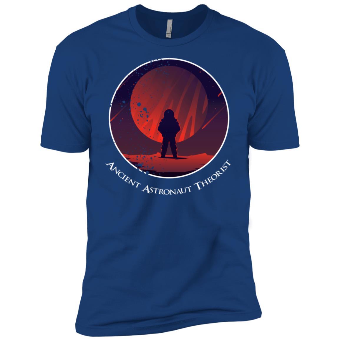 Ancient Astronaut Theorist Eroded Style Men Short Sleeve T-Shirt