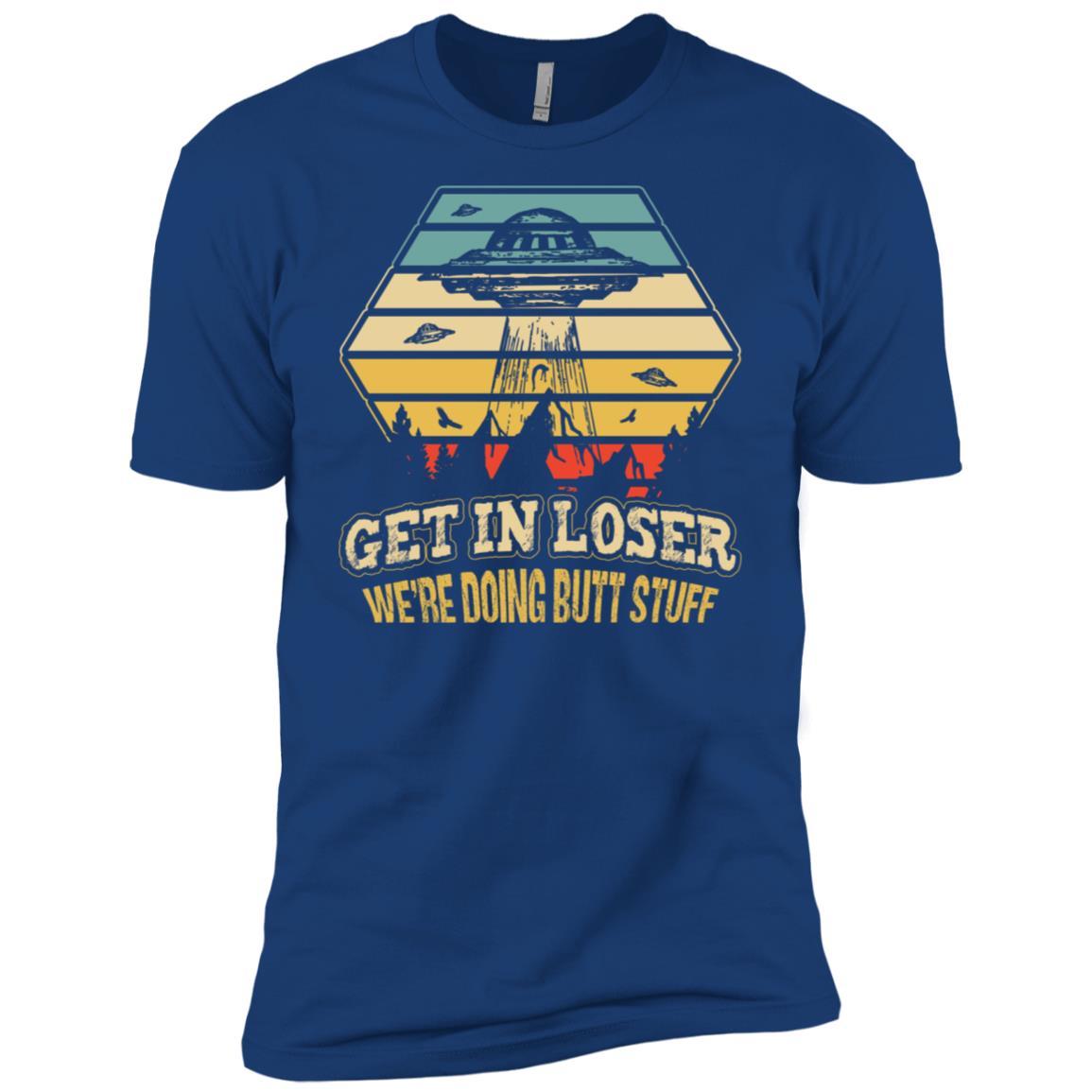 Alien Ufo Believer Funny Abduction Men Short Sleeve T-Shirt