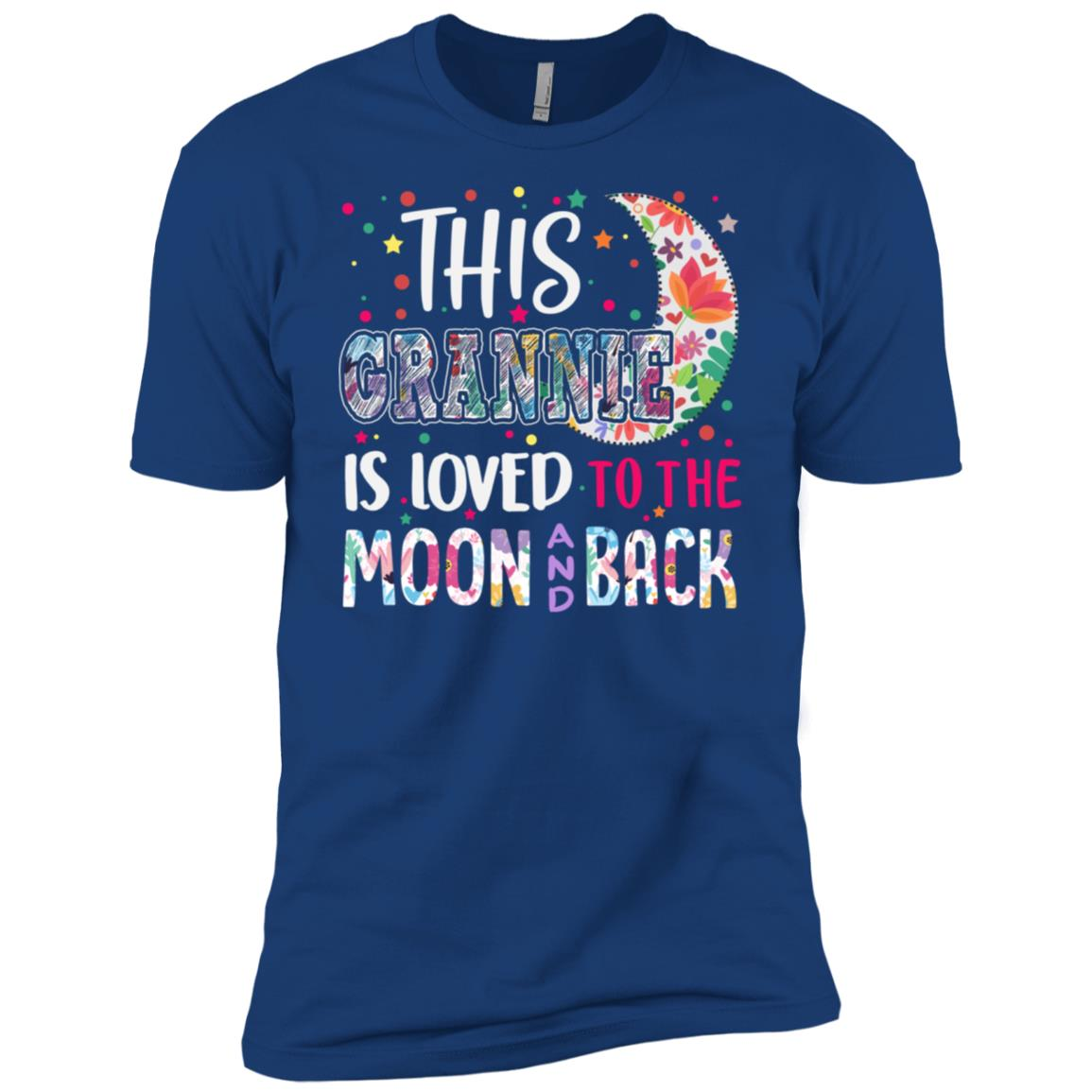 This Grannie is loved to the moon and back Men Short Sleeve T-Shirt