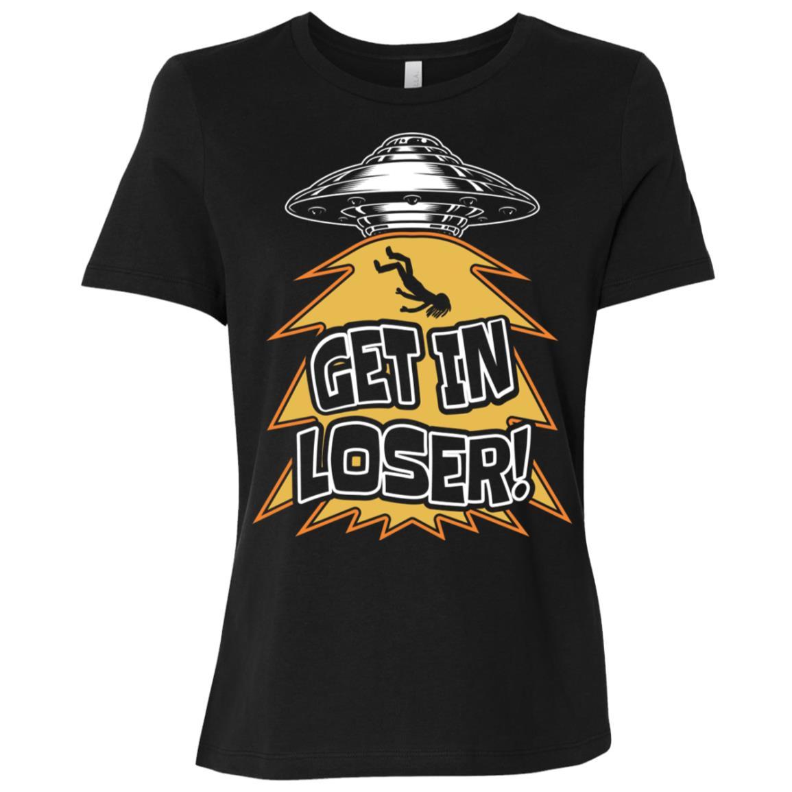 Alien Ufo Believer Funny Abduction -2 Women Short Sleeve T-Shirt