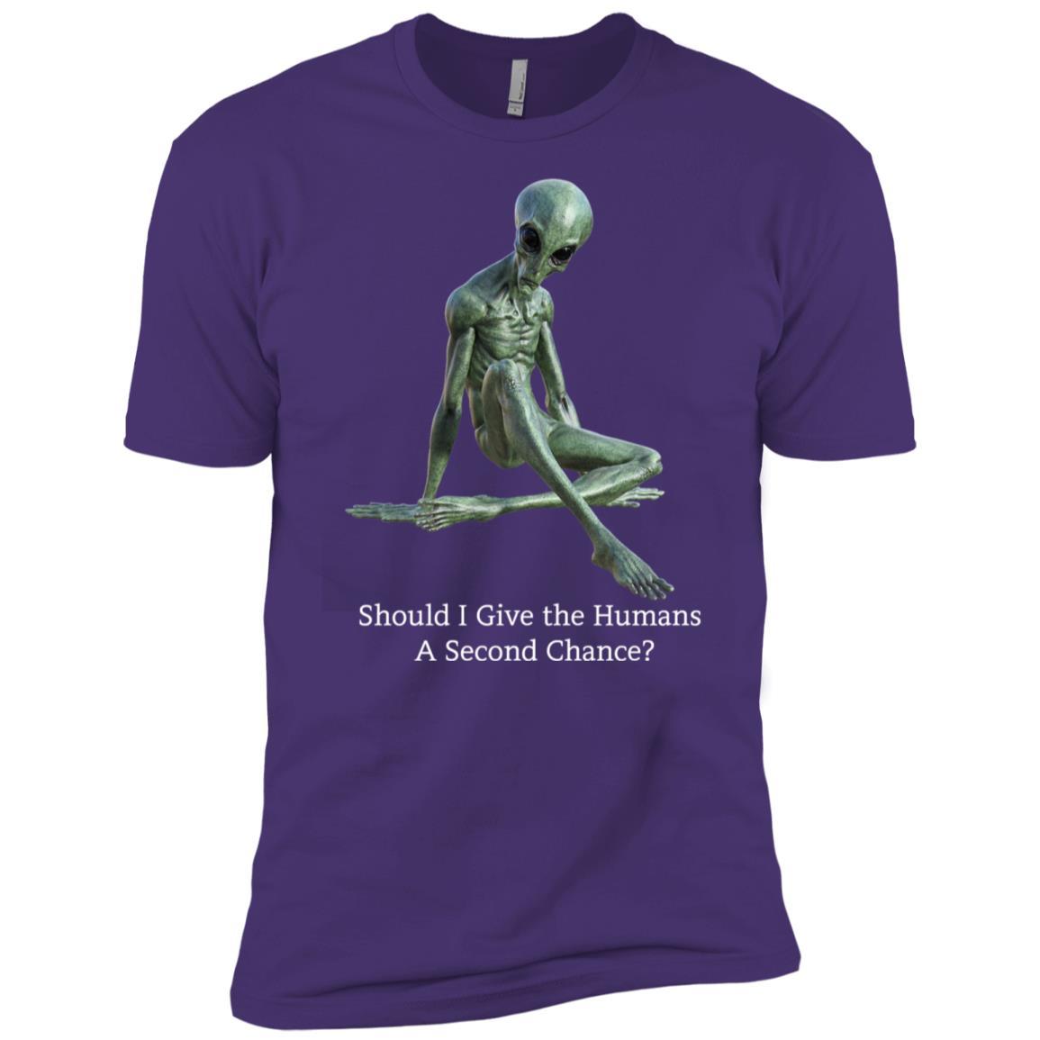 Funny Alien – Men Short Sleeve T-Shirt
