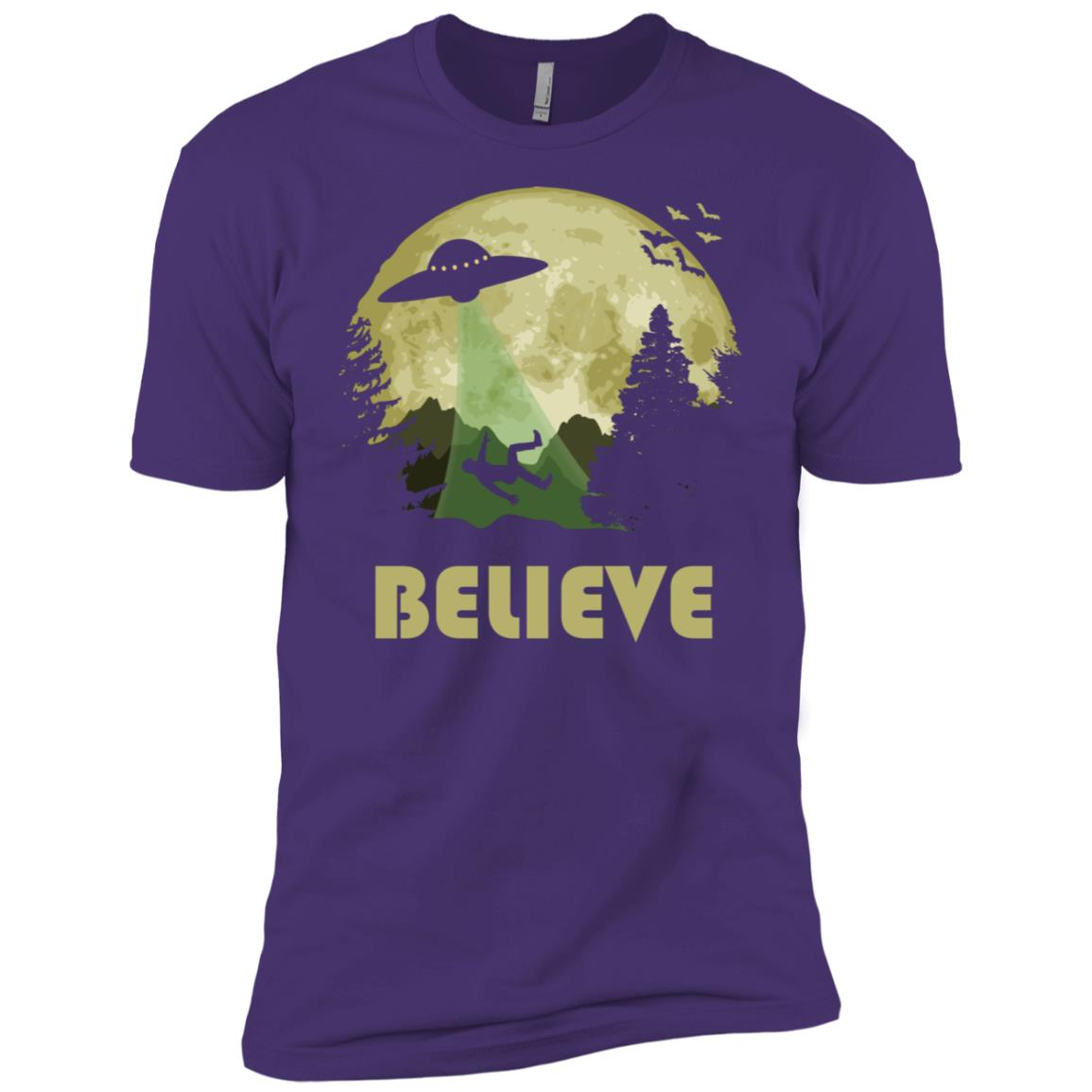 Believe – The Truth Is Out There Men Short Sleeve T-Shirt