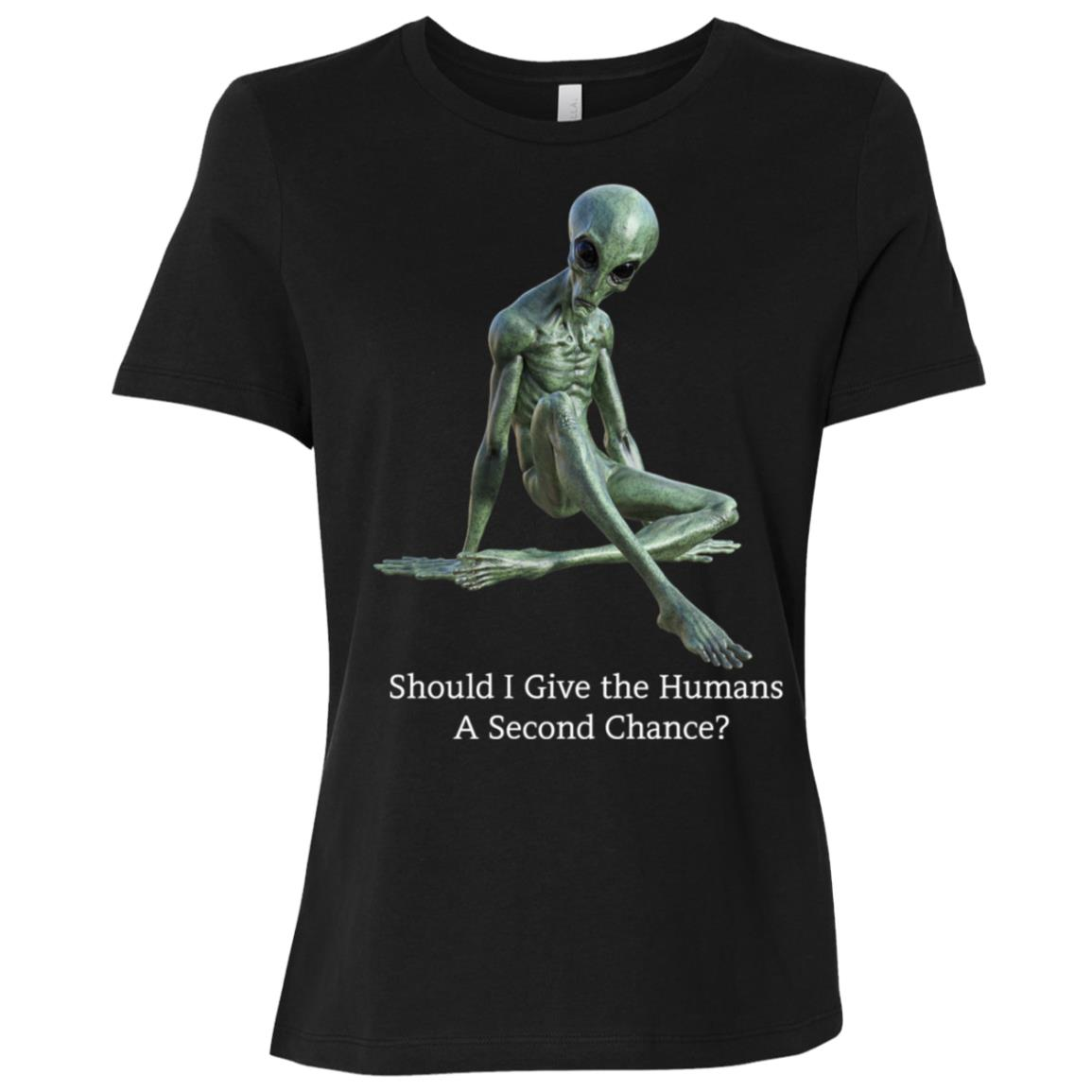 Funny Alien – Women Short Sleeve T-Shirt
