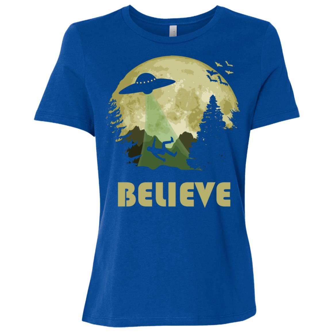 Believe – The Truth Is Out There Women Short Sleeve T-Shirt