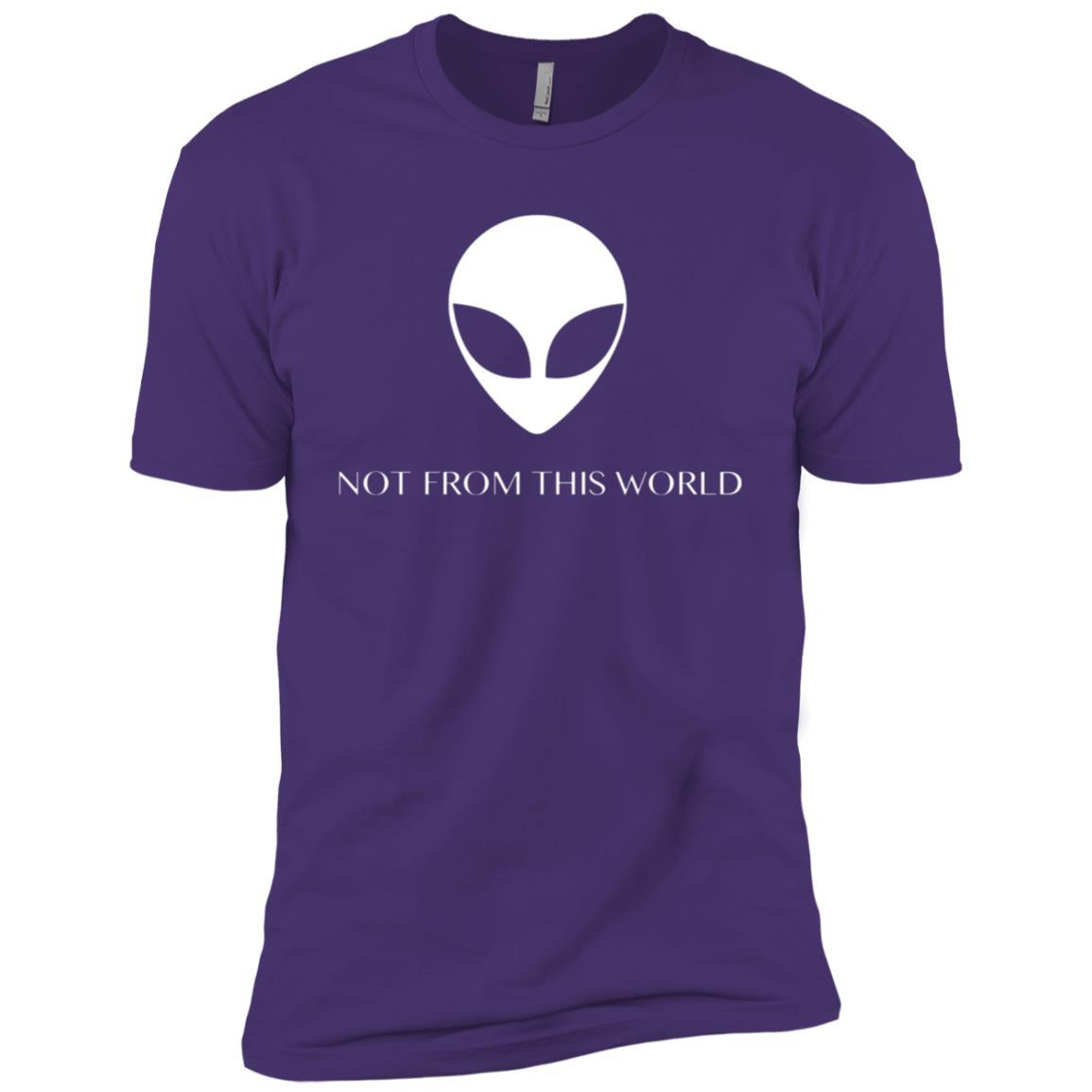 Not From This World Alien Men Short Sleeve T-Shirt