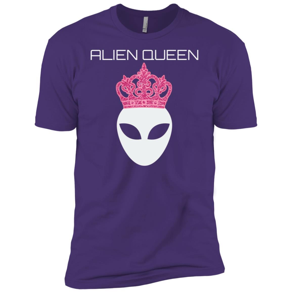 Funny Alien Queen Sweatshirt Ufo Abduction Gift Geeky Women Men Short Sleeve T-Shirt