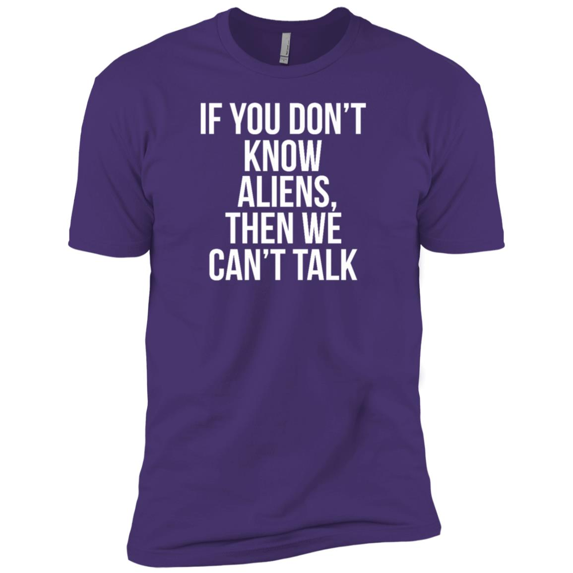 College Aliens Boys Girls Kids Men Short Sleeve T-Shirt
