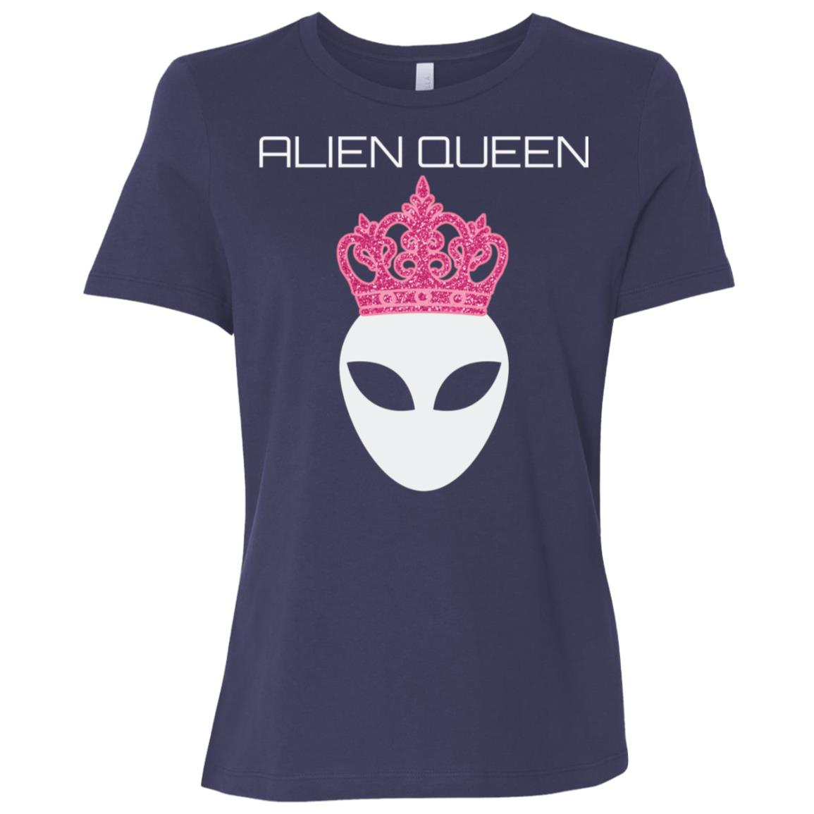Funny Alien Queen Sweatshirt Ufo Abduction Gift Geeky Women Women Short Sleeve T-Shirt