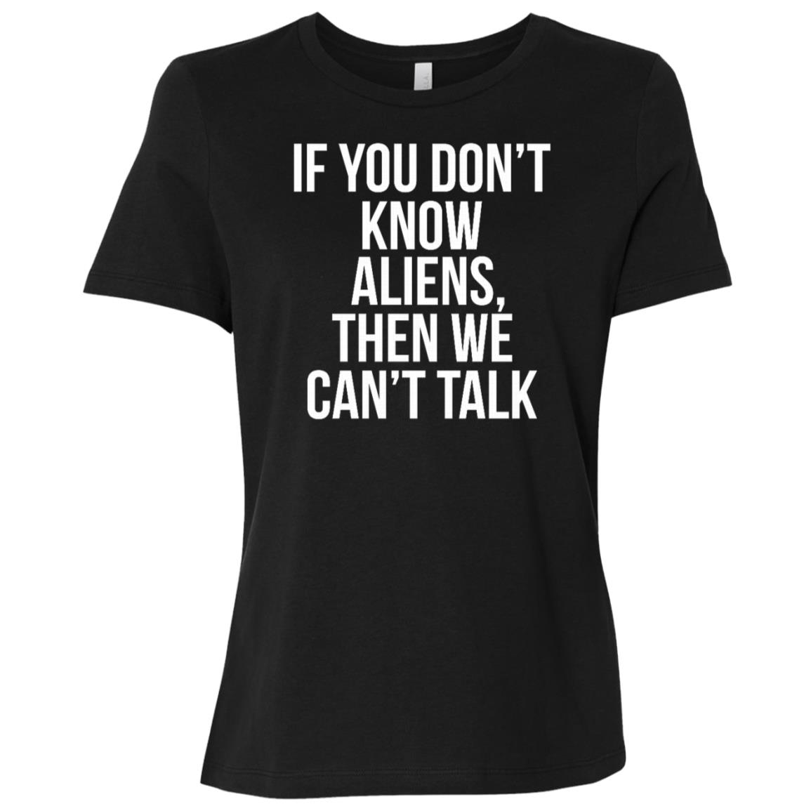 College Aliens Boys Girls Kids Women Short Sleeve T-Shirt